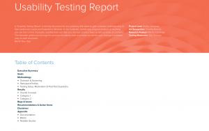 marketing-strategy-useability-report